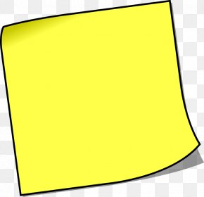 Sticky Note - Post-it Note Paper Clip Art PNG