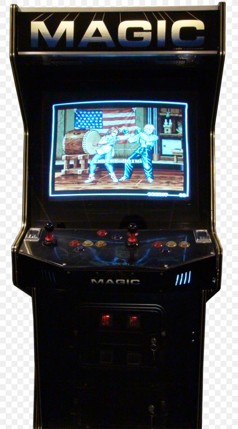 Art Of Fighting 2 Arcade Game Arcade Cabinet Neo Geo Png