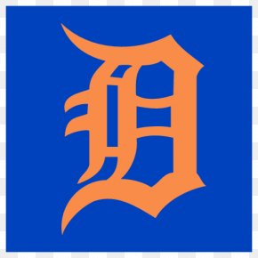 Detroit Tigers Vector Logo - Comerica Park Detroit Tigers MLB Logo Decal PNG