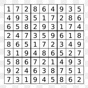Killer Sudoku Puzzle Sudoku Solving Algorithms Nurikabe, PNG