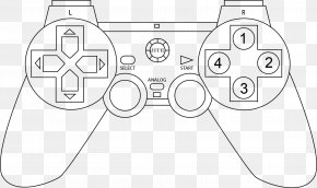 Controller - PlayStation 3 PlayStation 2 PlayStation 4 Joystick Game Controllers PNG