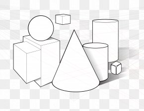 Shape - Three-dimensional Space Shape Cone Geometry Clip Art PNG