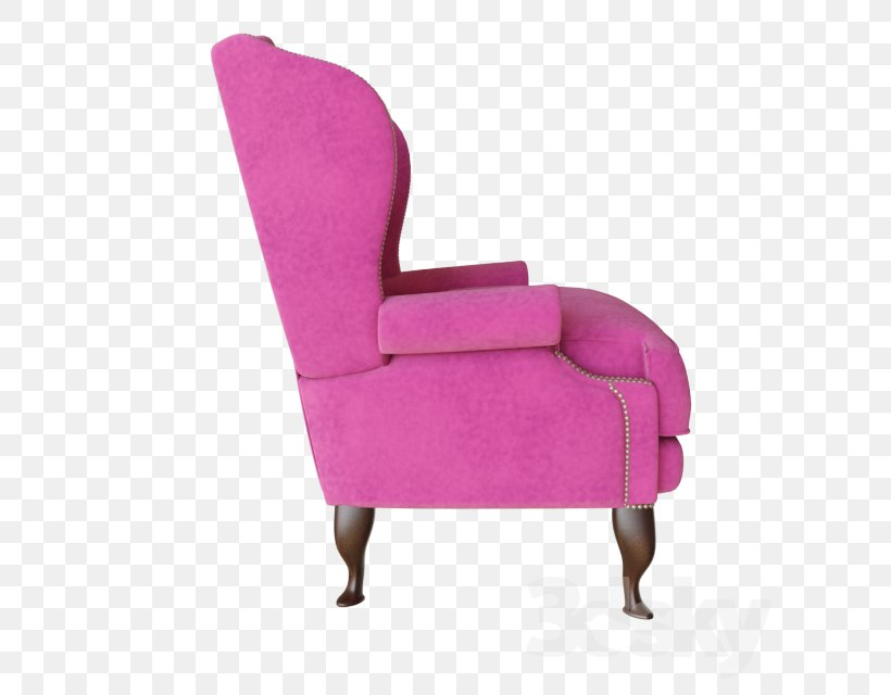 Chair Comfort, PNG, 640x640px, Chair, Comfort, Furniture, Magenta, Pink Download Free