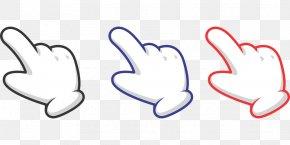Gesture Cursor - Computer Mouse Arrow Finger Cursor Pointer PNG