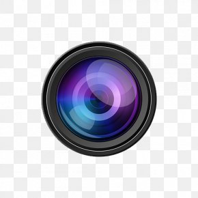 Camera Lens - Camera Lens Single-lens Reflex Camera Clip Art PNG