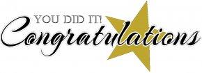 Microsoft Cliparts Congratulations - Graduation Ceremony Information Clip Art PNG