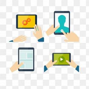 Tablets And Smartphones - Tablet Computer Smartphone Clip Art PNG