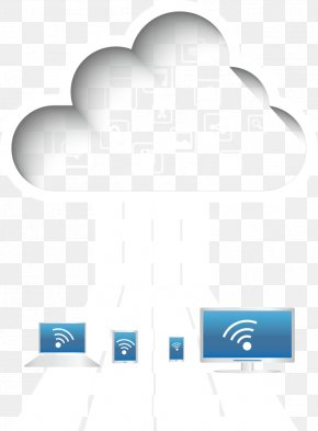 Vector White Cloud Services - Euclidean Vector Cloud Computing PNG