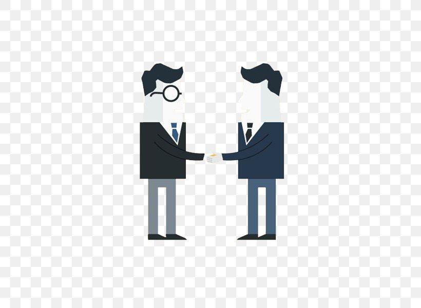 Drawing Handshake, PNG, 600x600px, Drawing, Blue, Business, Cartoon, Handshake Download Free