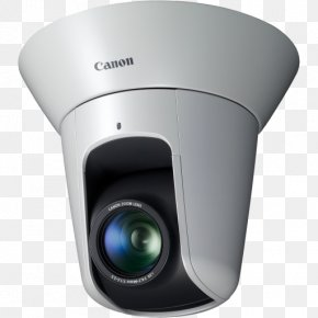 Canon Camcorders - Pan–tilt–zoom Camera Canon VB H43 Closed-circuit Television IP Camera PNG