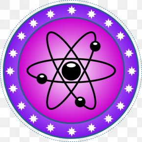 Science Symbol - Science Symbol Nuclear Physics Clip Art PNG