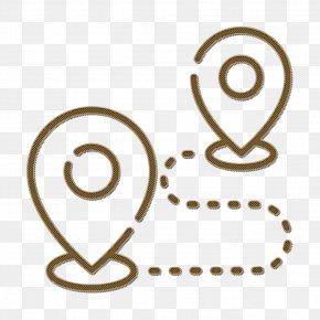 Line Art Symbol - Travel Icon Destination Icon Navigation & Maps Icon PNG