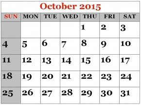 Calendar Cartoon Cliparts - Online Calendar October July Clip Art PNG