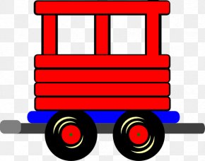 Boxcar Train Cliparts - Train Passenger Car Rail Transport Clip Art PNG