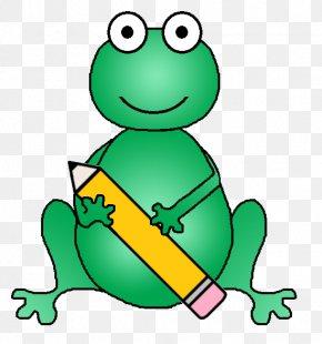 School Frog Cliparts - Tree Frog School Teacher Clip Art PNG