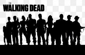 Walking Dead Cliparts - The Walking Dead Rick Grimes Carl Grimes Merle Dixon Wallpaper PNG