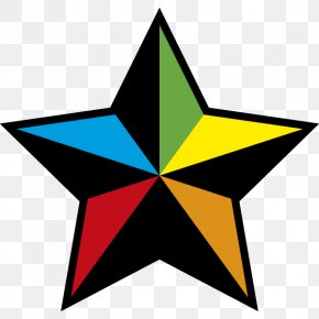 Warning - Yellow Pentagram Gold Clip Art PNG