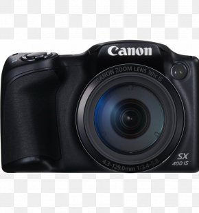 Digital Camera - Canon PowerShot SX410 IS Point-and-shoot Camera Bridge Camera PNG