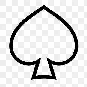 Ace Of Spades Playing Card PNG