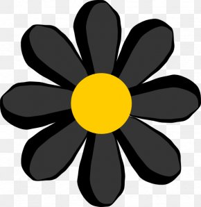 Simple Flower Cliparts - Flower Petal Clip Art PNG