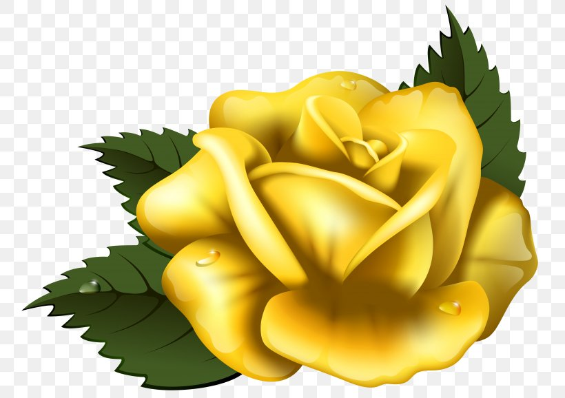 Yellow Roses Clipart - Yellow Rose Border Clipart - Png Download (#856771)  - PinClipart
