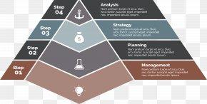 Pyramid Steps - Diagram Pyramid Presentation Chart PNG