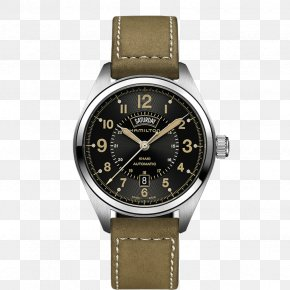 Watch - Hamilton Khaki Field Quartz Hamilton Watch Company Hamilton Khaki Aviation Pilot Auto Automatic Watch PNG