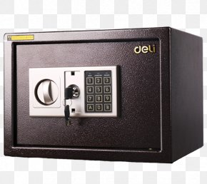 Electronic Password Safe - Safe Deposit Box Insurance Cabinetry PNG