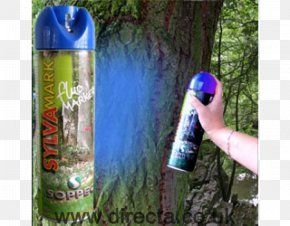 Blue Spray - Aerosol Spray Tree Paint Color Forest PNG