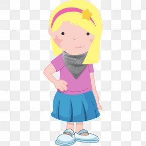 Kids Cartoon - Bib Turquoise Color Teal Blue PNG
