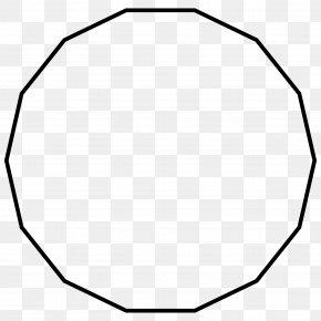 Shape - Hendecagon Polygon Shape Nonagon PNG