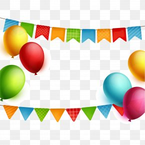 Birthday Party Decorations - Happy Birthday To You Party Balloon PNG