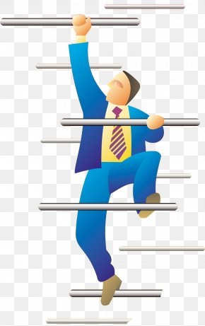 People Climb Ladder - Microsoft Word Information Document File Format PNG