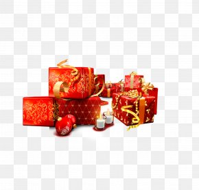 Chinese New Year Gift Picture Material - Gift Chinese New Year PNG
