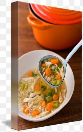 Chicken Soup - Soup Vegetarian Cuisine Recipe Tableware Food PNG