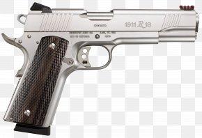 Handgun - Remington 1911 R1 .45 ACP Stainless Steel Pistol Remington Arms PNG