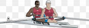Water Rowing - Rowing Stock Illustration Canoe Illustration PNG