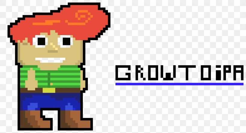 Growtopia Pixel Art Video Game Png 980x530px Growtopia