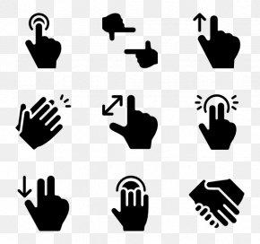 Middle Vector - Hand Middle Finger Clip Art PNG