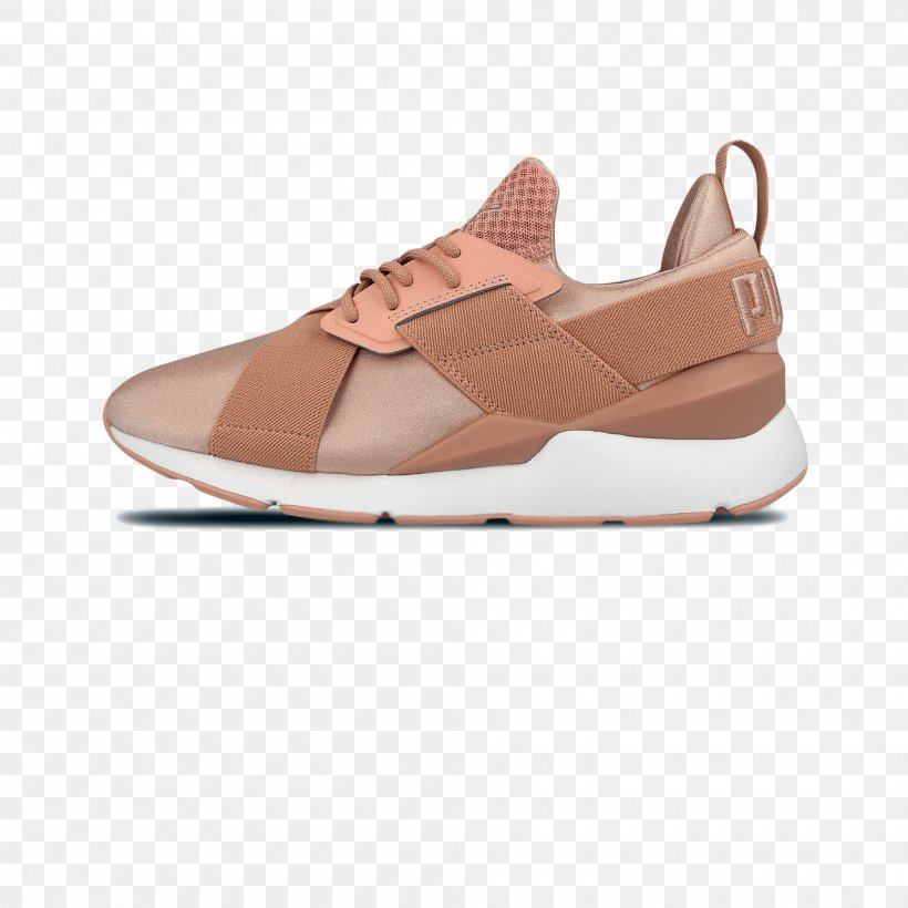 Sports Shoes Puma Muse Satin Trainers
