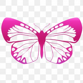 Butterfly - Butterfly Sticker Wall Decal Polyvinyl Chloride PNG