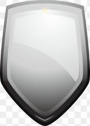 Silver Shield - Silver Logo Icon PNG
