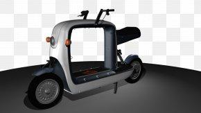 Car - Wheel Car Scooter Electric Vehicle Automotive Design PNG