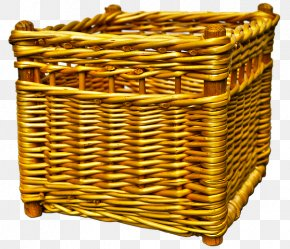 Wicker Basket - Picnic Baskets Basket Weaving Wicker PNG