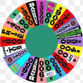 Fortune Wheel - Game Show Television Show Contestant Art PNG