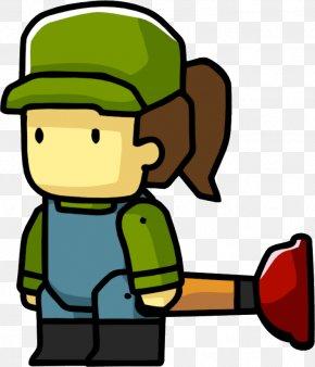 Plumber Pics - Scribblenauts Emergency Plumbers Plumbing Clip Art PNG