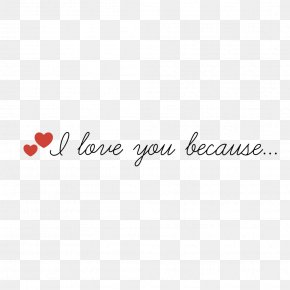 I Love You - Logo Brand Font PNG