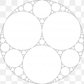 Mathematics - Apollonian Gasket Circle Fractal Mathematics Problem Of Apollonius PNG