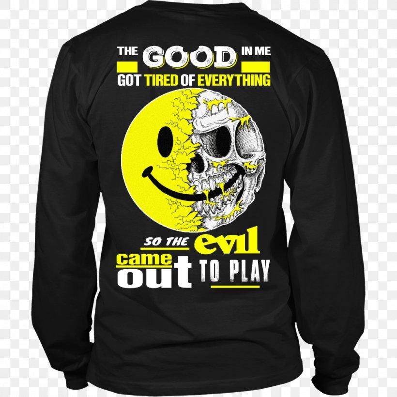T-shirt Hoodie Neckline Sweater, PNG, 1000x1000px, Tshirt, Black, Bluza, Brand, Clothing Download Free