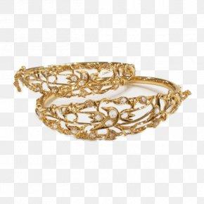Gold - Bracelet Bangle Gold PNG
